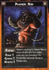 Buy Pumpkin Man Rage Card 6 Enemy Game 1995