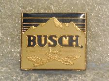 Buy Lot of 7 1980's Era Busch Beer Rocky Mountain Sign Hat/Jacket Lapel Pins