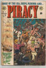 Buy PIRACY #1 Davis, Williamson/Torres, Wally Wood art 1954 COMICS 1st Print/Series
