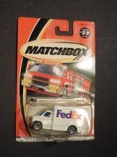 Buy 2000 MBX #59 Fedex Delivery Truck with Tinited Blue Windows Mint on Card