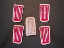 Buy Lot of 5 Vintage FIAT Cap/Shirt/Jacket Sew on Patches