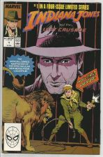 Buy INDIANA JONES AND THE LAST CRUSADE #1 VF- or better 1989 Blevans Marvel Comics
