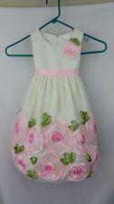 Buy American Princess Ivory Pink Floral 3T Dress girls Spring Wedding