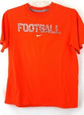 Buy Nike Large Orange Football Tshirt Boys L