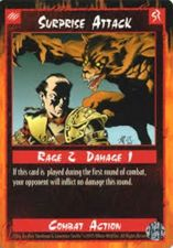 Buy Surprise Attack Card Mint Unplayed Combat Game Sept 1995