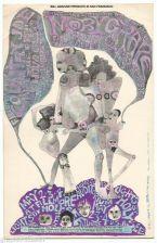 Buy Handbill/PostCard/: FILLMORE AUDITORIUM Moby Grape, Country Joe, + 1960's
