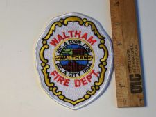 Buy Waltham Fire, MA Iron/Sew on Patch
