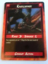 Buy Rage KneeCapper Trading Card Combact Action 1995 Rage 3 Damage 2