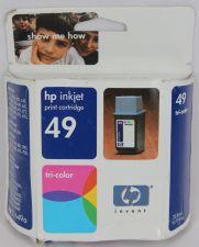 Buy 49 tri COLOR ink jet HP DeskJet 682c 692c 693c 695c 697c printer 51649A