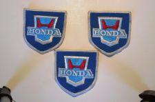 Buy Lot of 3 Vintage Honda Auto/Motorcycle Iron/Sew On Patches
