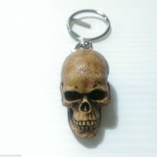 Buy Skull Bonehead Resin Handmade Key Chain Collectibles Keyring for gift 1 piece