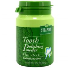 Buy Supaporn Herbal Tooth Polishing Powder with Cuttlefish Bone 90g 3.2oz