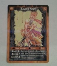 Buy Banana Split Rage Game Card # 2 1995 Mint