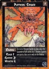 Buy Pattern Spider Rage Card 1 Mint Unplayed Enemy Game Sept 1995
