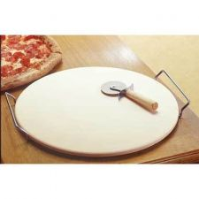 Buy just the thing for the pizza loving household! this pizza stone set