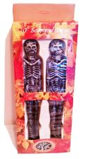 "Buy Robert Alan Candle Company Halloween 10"" Tapers Skeletons Horror Gothic 3D"