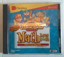 Buy Davidson Learning Center Series Math Cd-Rom Windows Mac ages 9-12