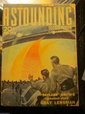 Buy Astounding Science-Fiction Nov.1939 E.E. Smith GrayLensman,Robert Heinlein PULP