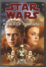 Buy Star Wars Episode II Attack of the Clones R.A. Salvatore Hardbound Book