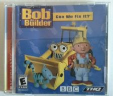 Buy Bob the Builder Can we fix it Pc CD Rom Game Scholastic Windows
