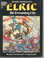 "Buy Marvel Graphic Novel #2 ELRIC Marvel Comics 8 1/2"" x 11"" P. Craig Russell"