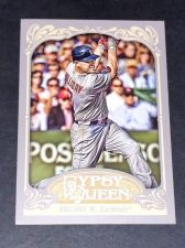 Buy MLB MATT HOLLIDAY CARDINALS 2012 TOPPS GYPSY QUEEN #55 GD-VG