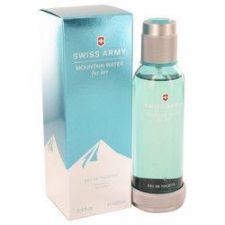 Buy Swiss Army Mountain Water by Swiss Army Eau De Toilette Spray 3.4 oz (Women)