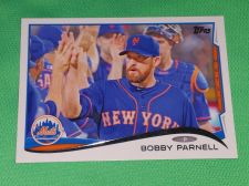 Buy MLB Bobby Parnell New York Mets 2014 Topps Baseball MNT