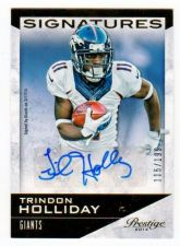 Buy NFL 2014 PANINI PRESTIGE TRINDON HOLLIDAY AUTO RC /199 MNT