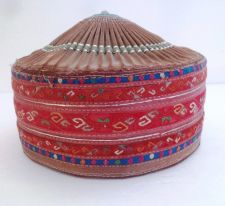 Buy OLD ETHNIC CHINESE MIAO HAND MADE EMBROIDERED GIRL HAT