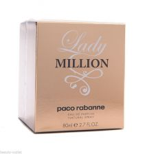 Buy Paco Rabanne LADY MILLION EDP 80ml 2.7oz Eau de Parfum Perfume NEW Women 2.7 oz
