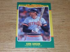 Buy VINTAGE Kirk Gibson Detroit Tigers 1986 FLLER LIMITED EDITION GLOSSY