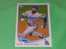 Buy MLB Carl Crawford Dodgers 2014 Topps Opening Day Baseball GD-VG