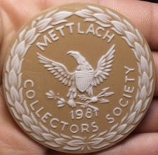 Buy Massive 63mm Ceramic~Mettlach Villeroy & Boch Germany 1981 Medallion~Free Ship
