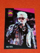 Buy RETRO BILLY IDOL 1992 PROSET ROCK & ROLL COLLECTORS CARD #188 MNT