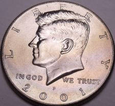 Buy United States Unc 2001-P Kennedy Half Dollar~Free Shipping