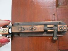 Buy Vintage Retro Lock tool Slide Latch Window Bolt Door Hasp iron Rustic Long 4 in