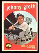 Buy 1959 TOPPS JOHNNY GROTH, #164, NM (59T0112)