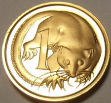 Buy Rare Proof Australia 1975 Cent~Echidna~23,000 Minted~Feather-Tailed Glider~Fr/Sh