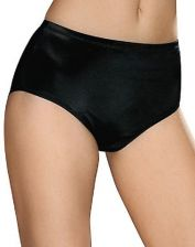 Buy Hanes Briefs Tagless Wedgie Free Pre-Shrunk 3-Pack Panties Plus Size 9 10
