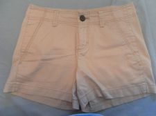Buy Womens Stretch Shorts Faded Glory Flat Front Beige Size 4