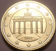 Buy Cameo Proof Germany 2002-A 10 Euro Cents~Minted In Berlin~Cameo~Free Shipping~
