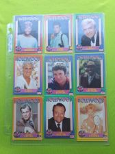 Buy VINTAGE LOT OF 9 1991 STARLINE HOLLYWOOD SUPERSTAR COLLECTORS CARDS GD-VG