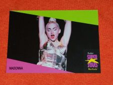 Buy RETRO MADONNA 1992 PROSET ROCK & ROLL COLLECTORS CARD #276 MNT