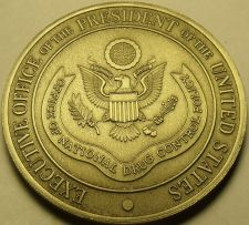 Buy Office Of National Drug Control Policy Huge Unc Medallion~Executive Office~Fr/Sh