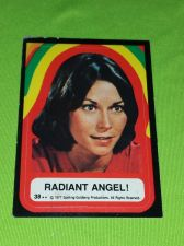 Buy VINTAGE 1977 CHARLIES ANGELS TELEVISION SERIES COLLECTORS STICKER CARD #38 GD-VG
