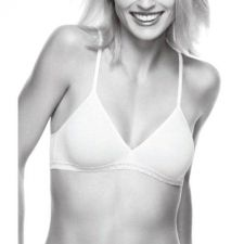Buy SB023 Warner's NEW 5898 Women's Lime Cotton Exchange WireFree Soft Cups Bralette