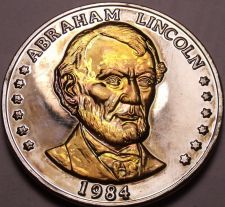 Buy Historic Mint Double Eagle Abraham Lincoln Commemorative Medallion~Free Shipping