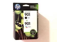 Buy 901 BLACK & COLOR ink jet HP - printer Officejet 4500 J4680 J4550 J4580 J4540