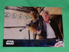 Buy 2016 Topps Star Wars Han Solo and chewy return home Collectors Card Mnt